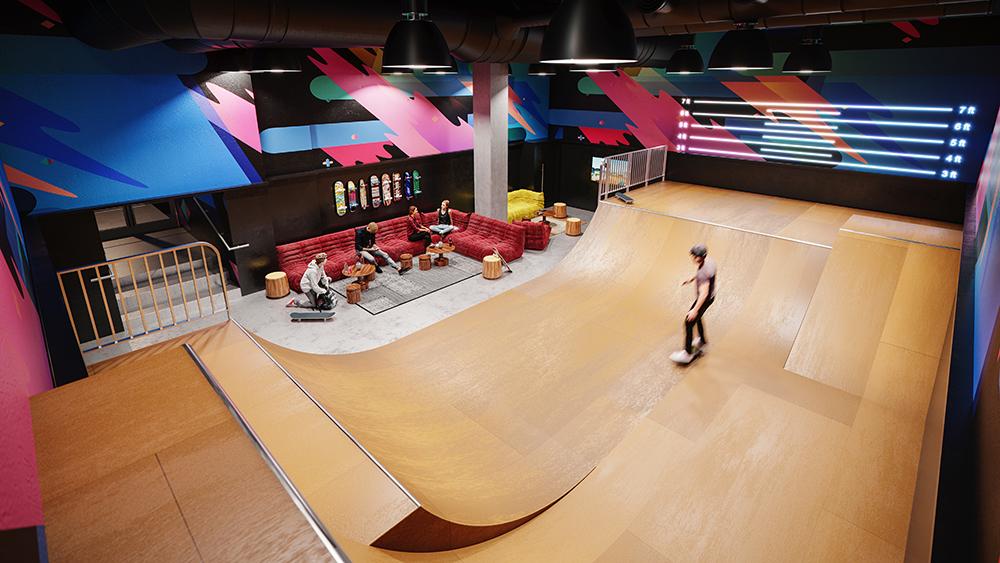 Real Estate Manhattan skate park