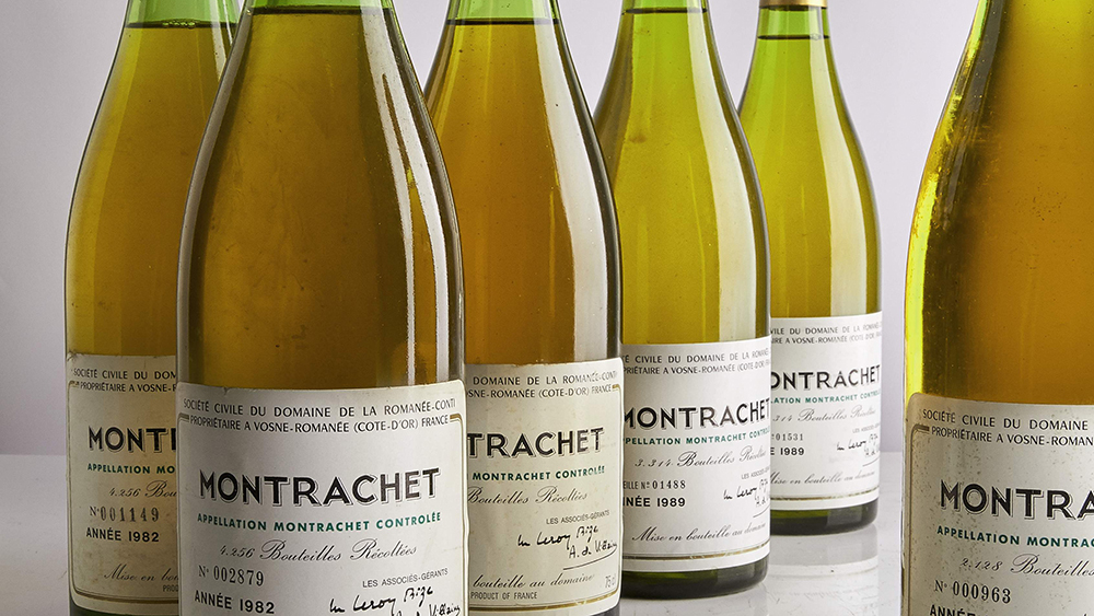 wine Sotheby's auction Montrachet