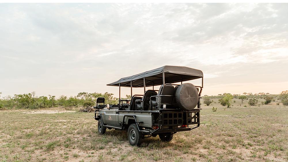 Safari truck in South Africa