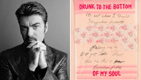 George Michael and Tracy Emin