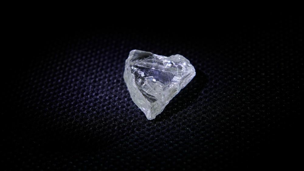 65-carat heart-shaped diamond discovered.
