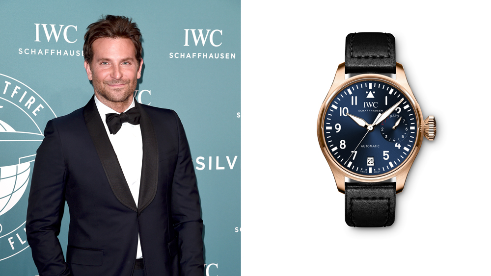 Bradley Cooper and IWC's Big Pilot Watch Single Piece