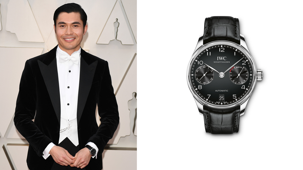 Henry Golding IWC Portugieser Automatic
