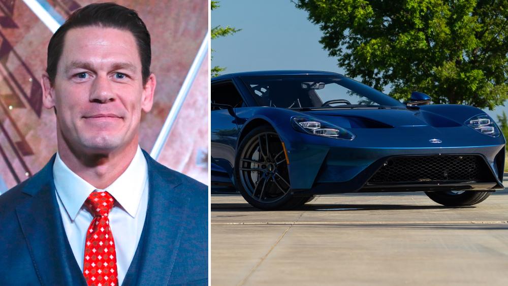 John Cena 2017 FORD GT Twin-Turbo 3.5L/647 HP,