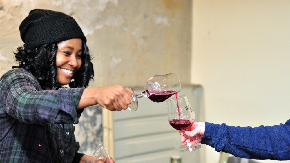 Krista Scruggs, founder of Zafa Wines.