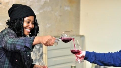 Krista Scruggs, owner of Zafa Wines.