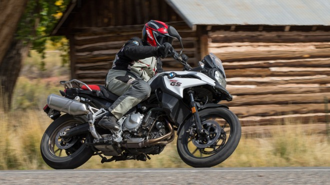 The 2019 BMW F 750 GS motorcycle.