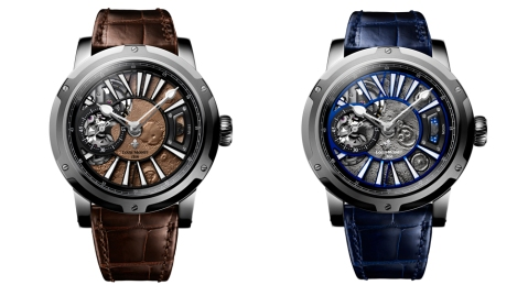Louis Moinet Mars and Moon Watch