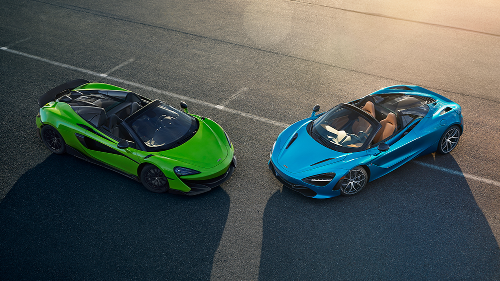 McLaren 600LT and 720S Spider-Global Test Drive