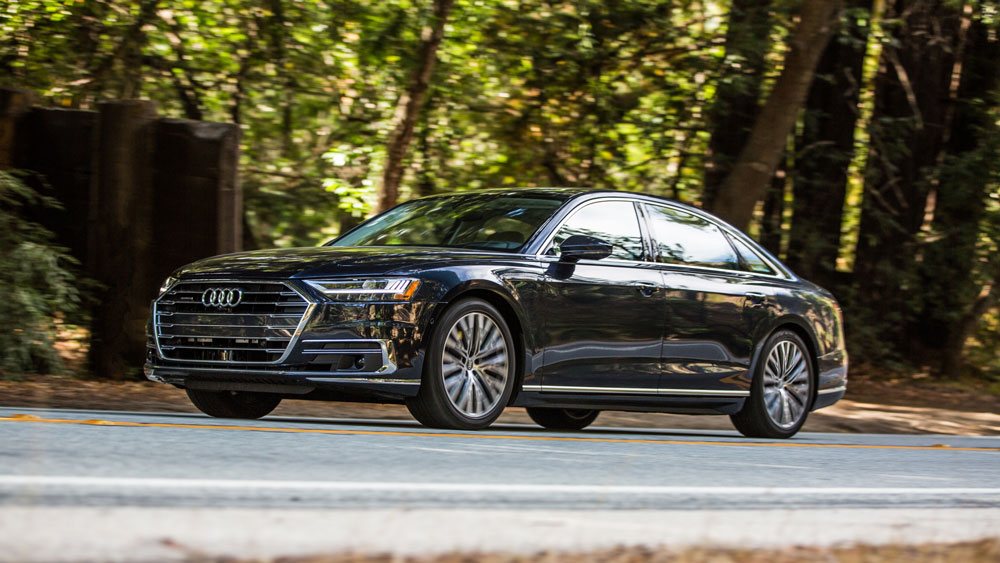 The 2019 Audi A8.