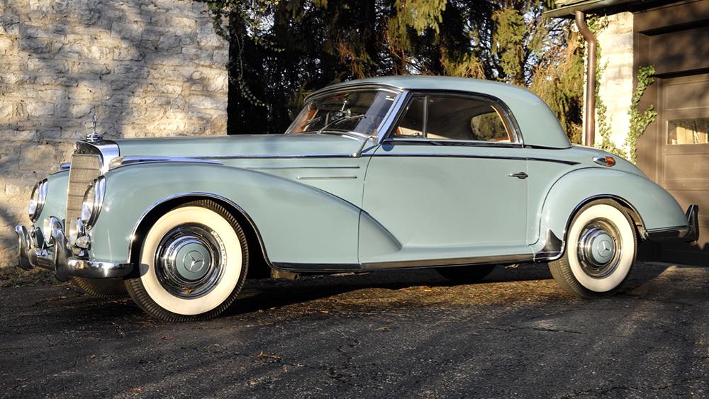 1957 Mercedes-Benz 300Sc Einspritzmotor Coupe