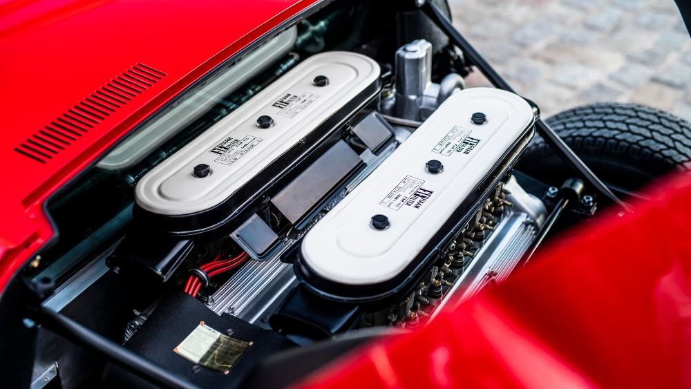 1972 Lamborghini Miura SV engine.