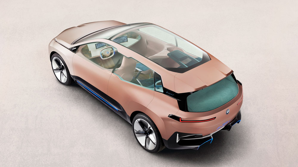 BMW's Vision iNext concept.