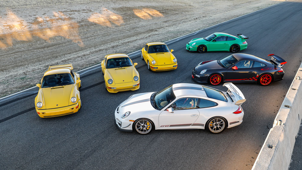 Rare private collection Porsches offered by Gooding & Company.