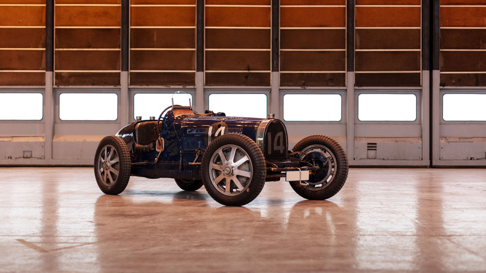 The 1931 Bugatti 51 Grand Prix offered at Rétromobile.