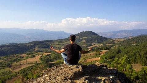 The meditation app Calm was just valued at one billion dollars.