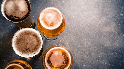 The UK's oldest brewed beer was discovered.