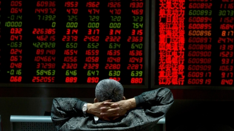 Financial Markets, Beijing, China