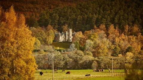 hunting lodge Scotland estate castle