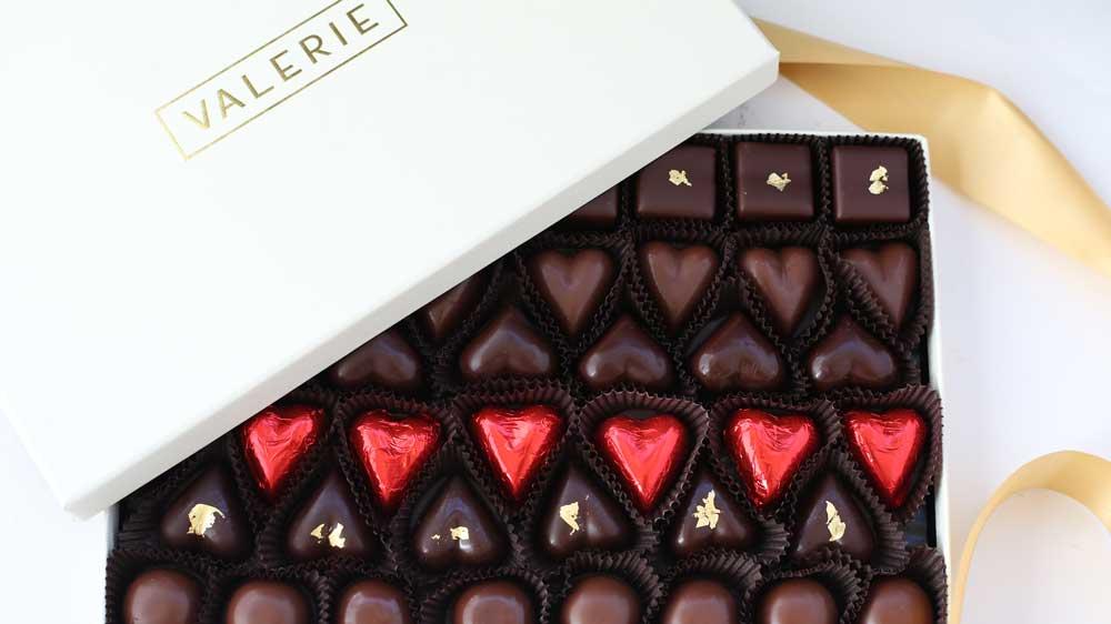 valentine's day chocolate valerie