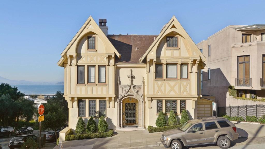 NIcholas Cage's San Francisco Home.