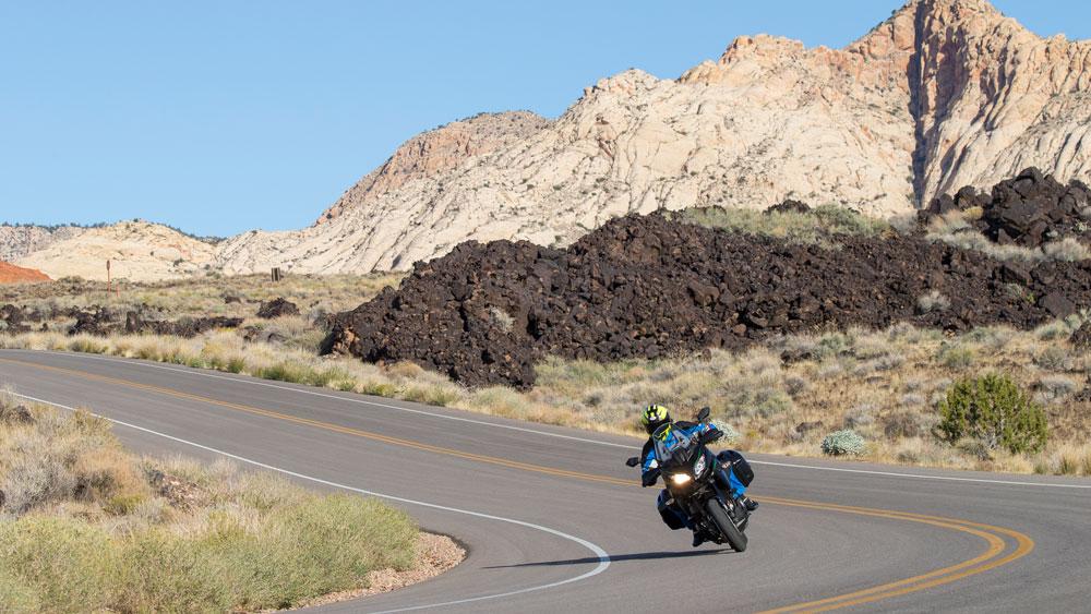 Test-Riding the Kawasaki Versys 1000 in Utah.