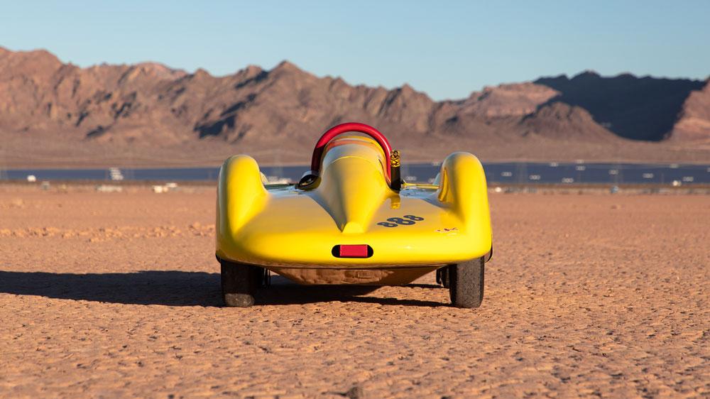 Speed icon Bill Burke's Super Shaker race car.