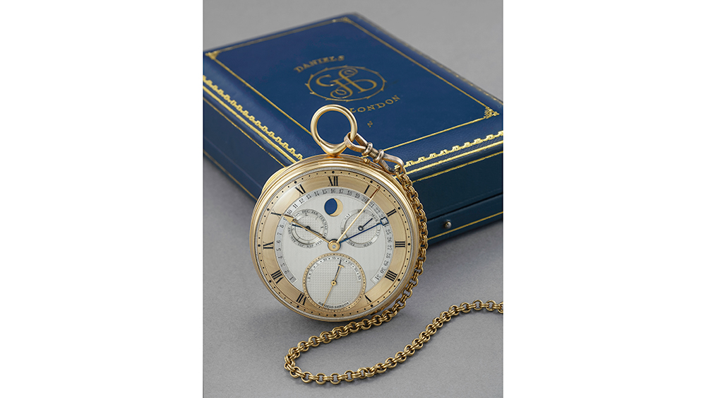 George Daniels Grand Complication pocket watch