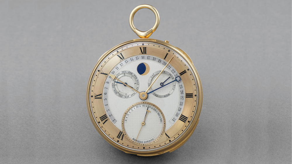 George Daniels Grand Complication pocket watch