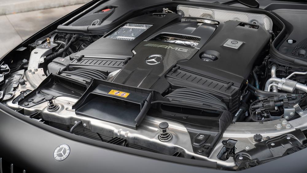 The Mercedes-AMG GT 4-door Coupe.