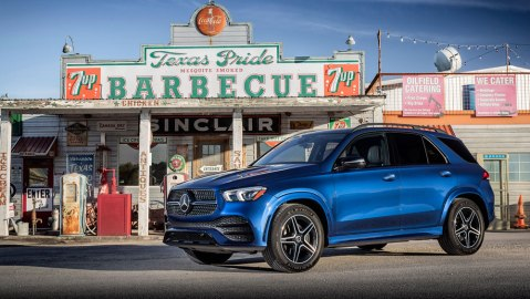 The 2020 Mercedes-Benz GLE 350.