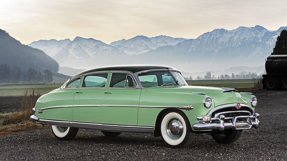 steve mcqueen s 53 hudson hornet is up for auction robb