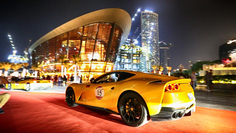 UAE Ferrari Cavalcade
