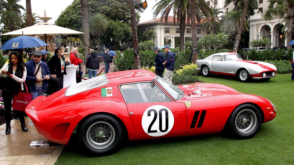 A Ferrari 250 GTO.