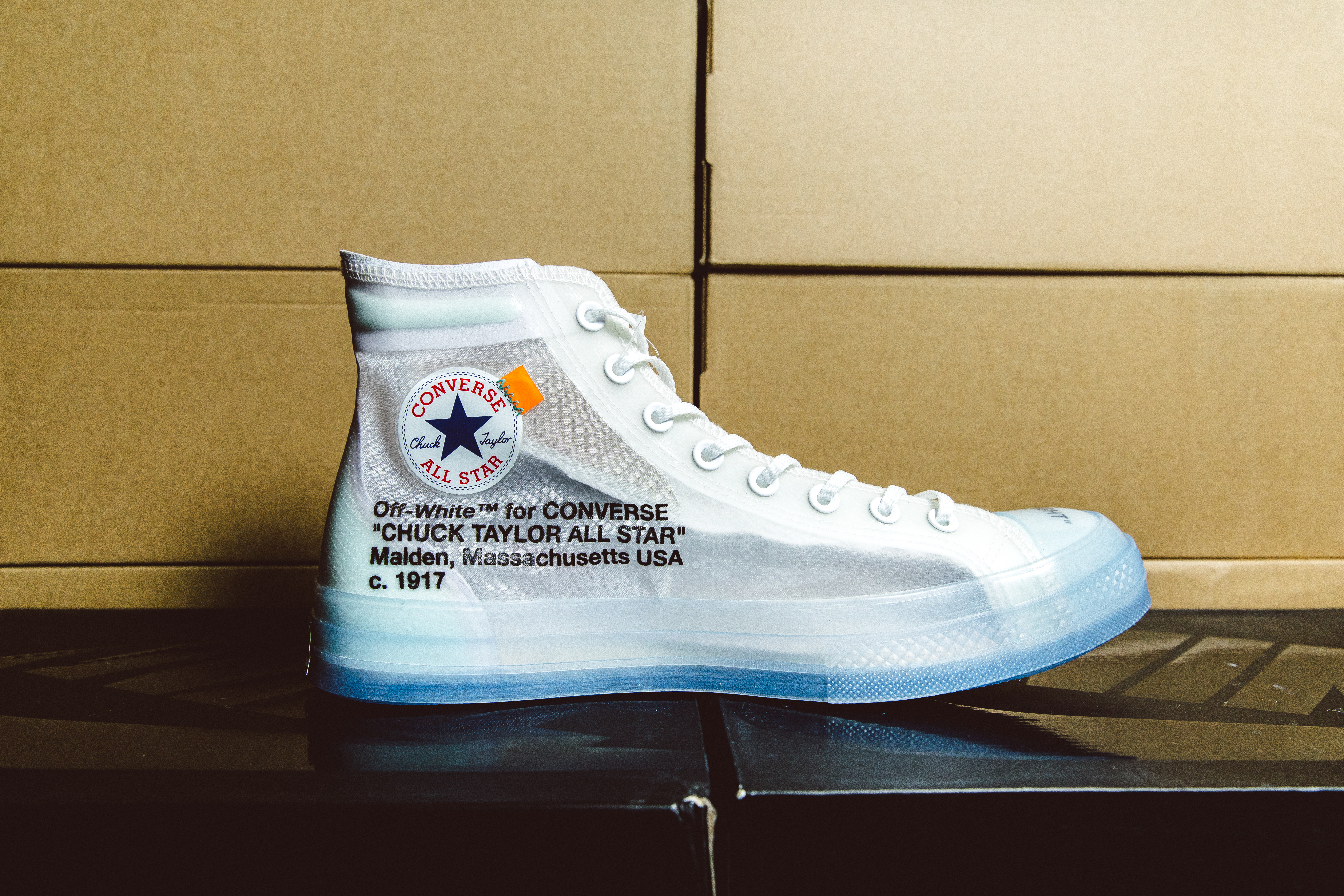 Brody's Nike x Off-White Chuck Taylor
