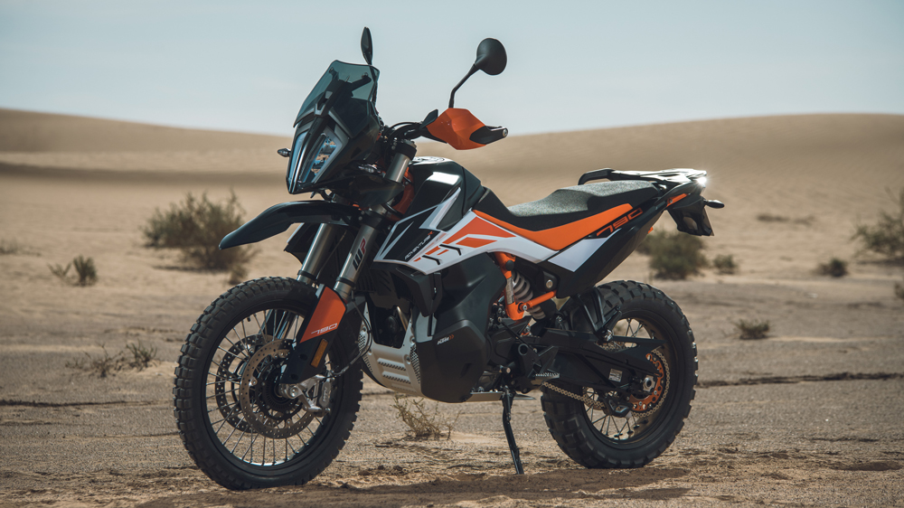 the KTM 790 Adventure R in Morocco.