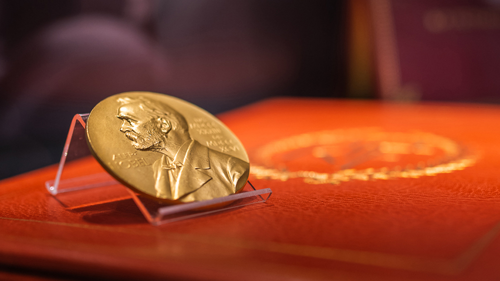 Richard Feynman's 1965 Nobel Prize medal in Physics was part of Sotheby's $3.8 million sale of the late physicist's papers and artifacts last year.