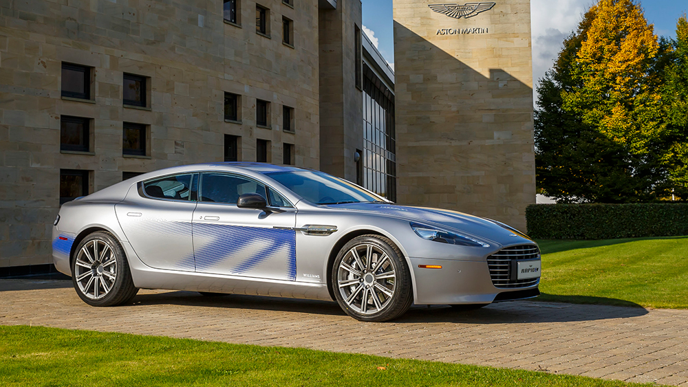 James Bond To Drive An Electric Aston Martin Rapide E In Next Film Robb Report