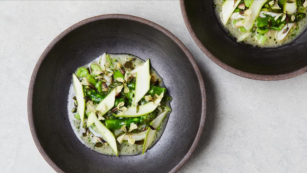 auburn asparagus razor clams