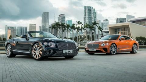 Bentley Continental GT Convertible V8 and Bentley Continental GT V8