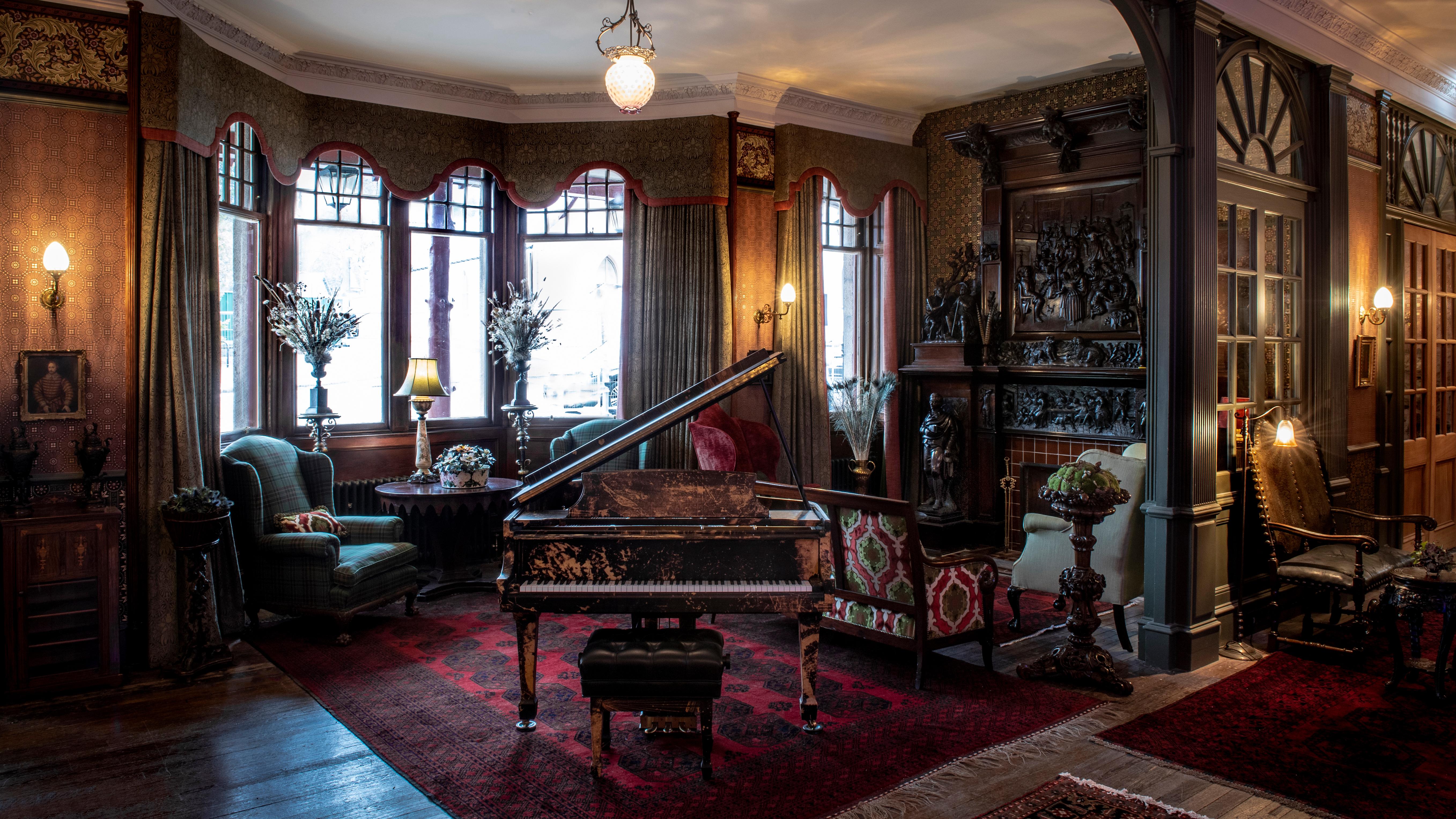 The Lobby at Fife Arms.