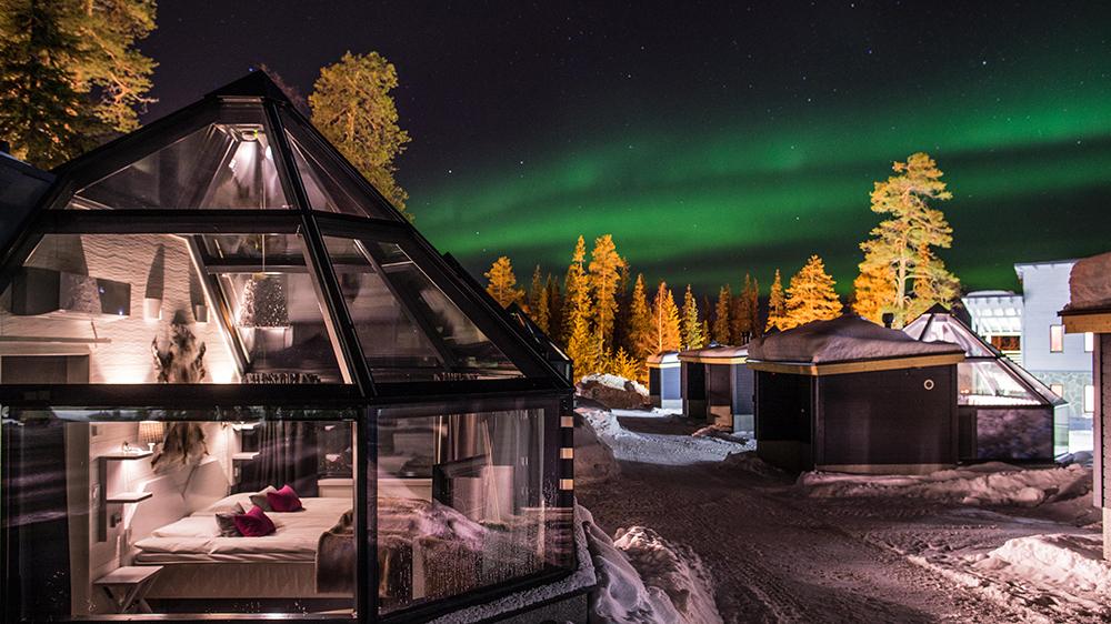 northern lights aurora borealis Scandinavia arctic
