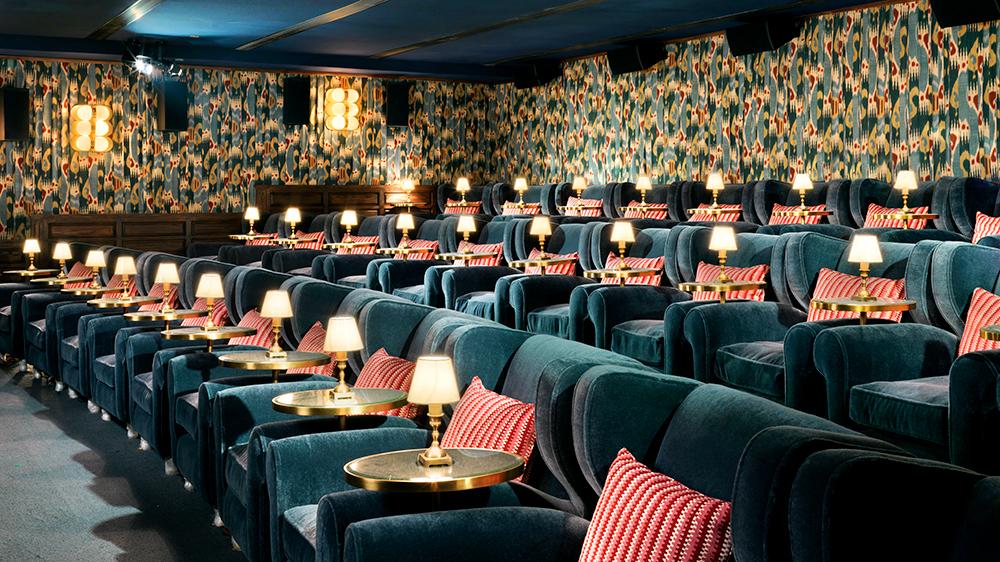 blue velvet private cinema movie theater