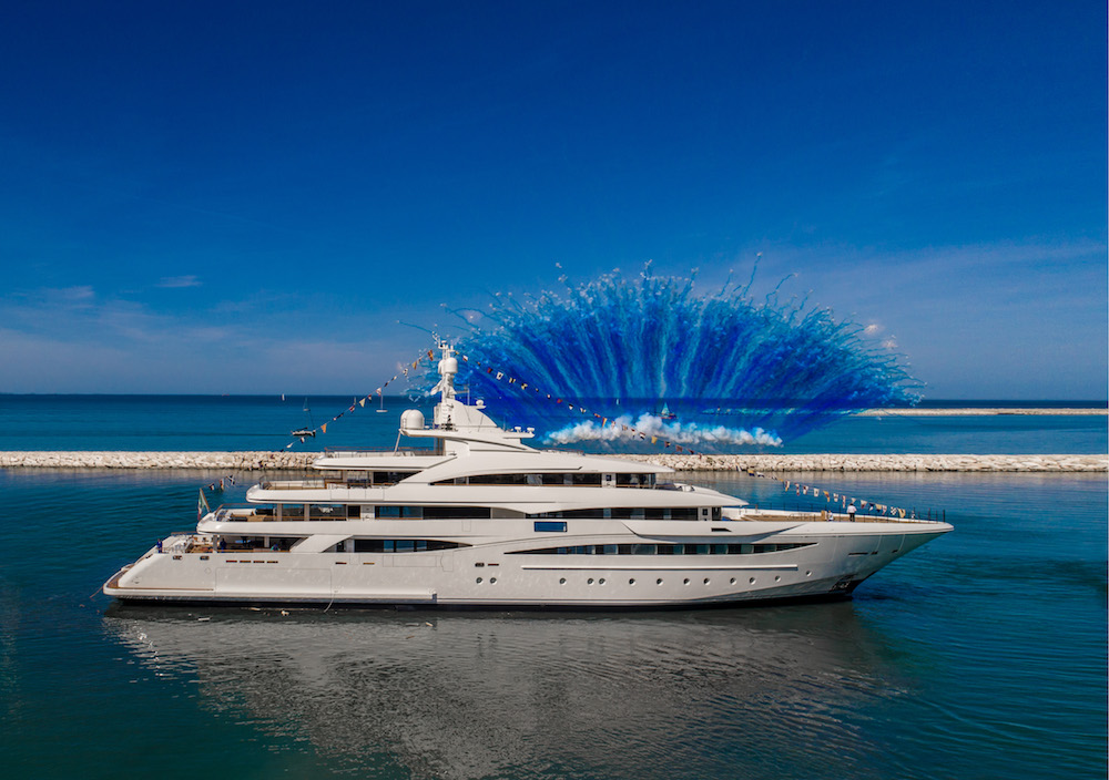CRN LAUNCHES NEW 79-METRE YACHT