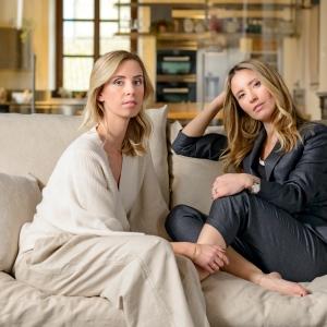 Sisters Carolina and Camilla Cucinelli