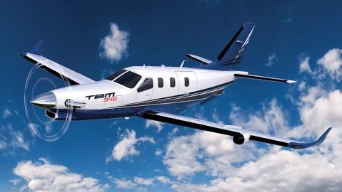 Daher TBM 940 turboprop plane