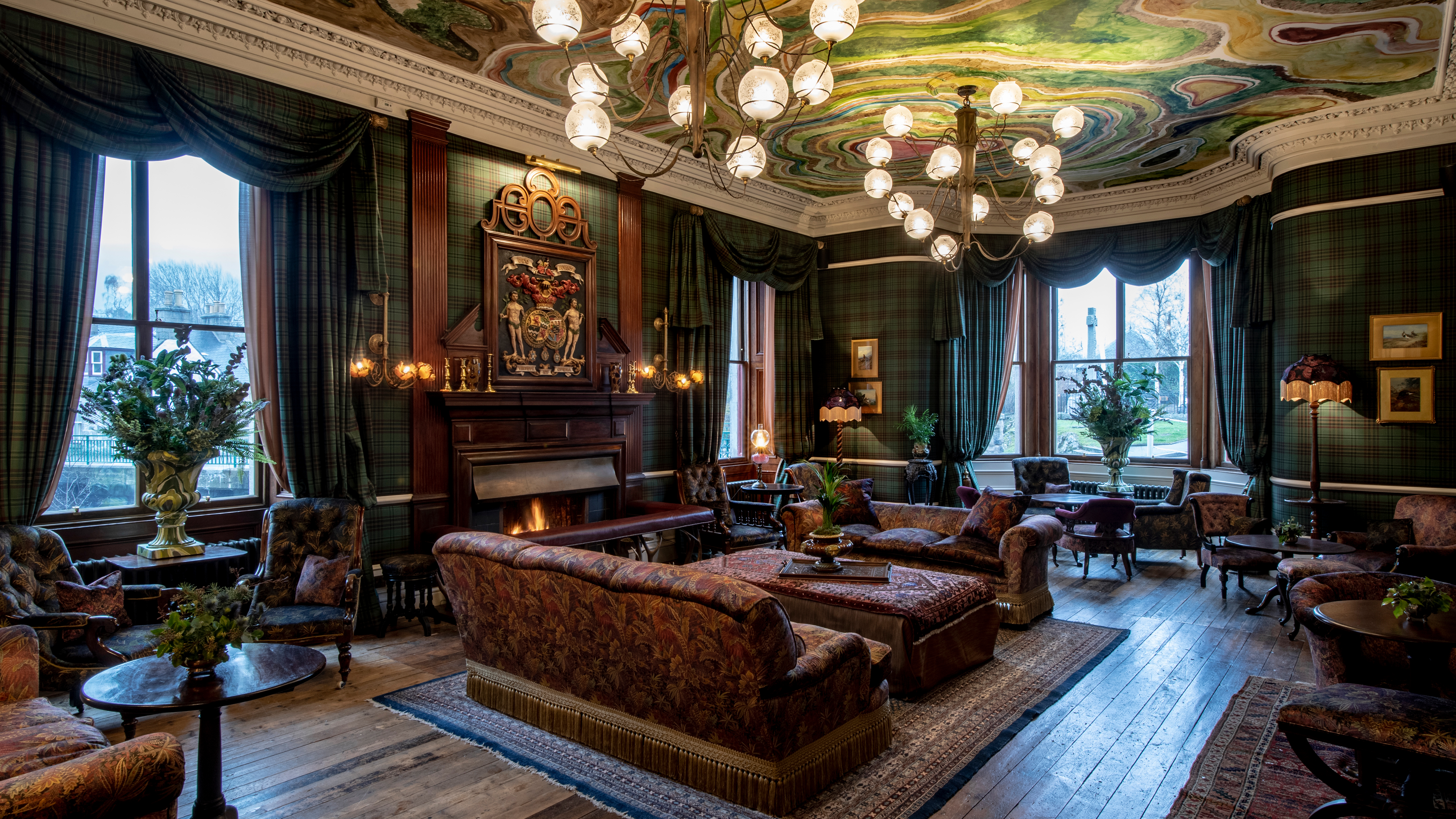 The Drawing Room at Fife Arms.