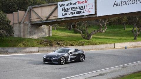 Lexus Performance Driving School at WeatherTech Raceway Laguna Seca.