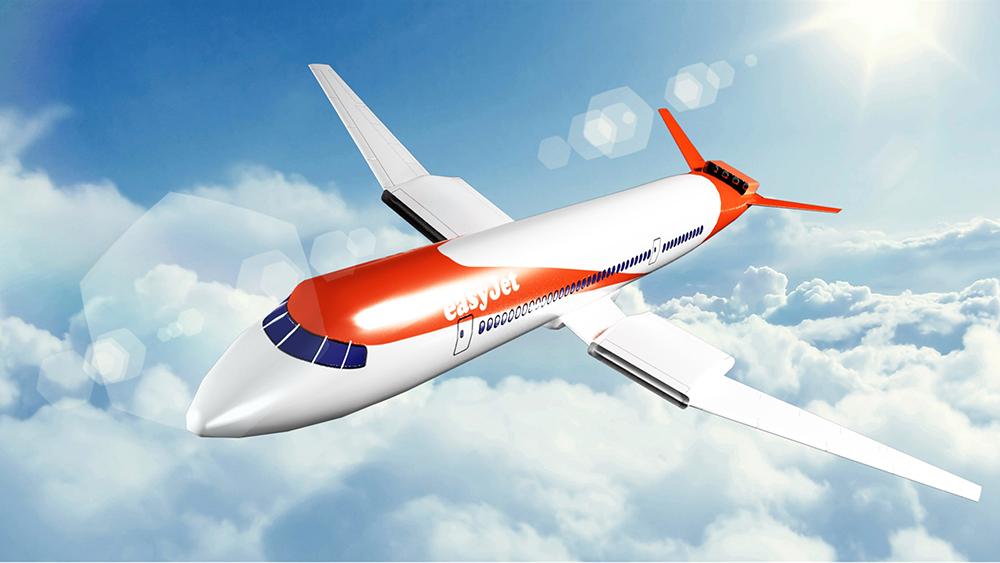 EasyJet's nine-passenger prototype.