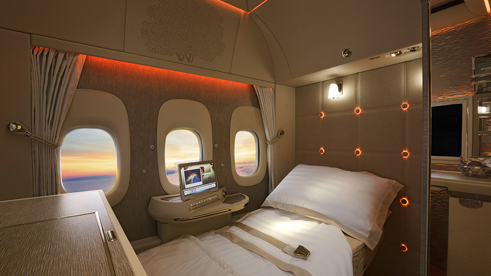 Emirates Airlines' First-Class Suite Is Up for Two Crystal Cabin Awards